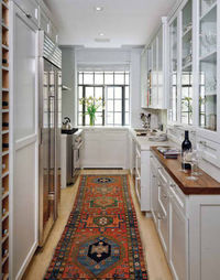 Nice mix of cabinetry