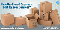 Specially manufacturing industries demands #cardboardboxes printing of barcodes or designing become easy on this material. #Cardboard #boxes protect the product that is enclosed in it. #RegaloPrint #packaging #customboxes #cardboardpackaging http://bit...