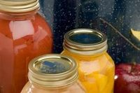 Canning is a process of food preservation that uses heat to kill mold, bacteria and enzymes that would otherwise spoil the food. The method is useful for a wide