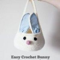 How to Crochet a Bunny Easter Basket