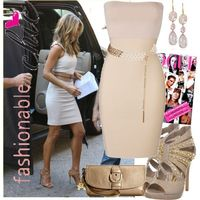 """""""Jenifer Aniston"""" by mandysol on Polyvore. Not crazy about the other dress...but those shoes!"""