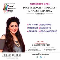 CREATOR INSTITUTE OF DESIGNER (CID) is one of the best fashion and interior designing institutes in Surat. CID provides Design education and promotes design awareness and application towards raising the quality of life by and through the fashion a...