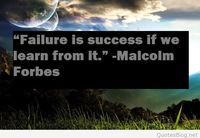 Failure and success quote
