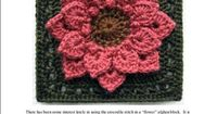 croco-dahlia granny square, free download pdf pattern on ravelry