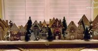 Another absolutely AMAZING Christmas village (made with Tim Holtz and other great products!) THis is incredible, truly.