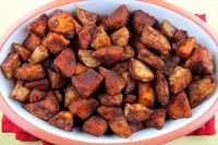 Cinnamon Chile Roasted Sweet Potatoes Recipe