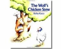 100th day activity to go with The Wolf's Chicken Stew