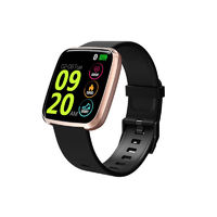 Bakeey S7 1.3inch Large View Heart Rate Blood Pressure Oxygen Monitor Smart Reminder Smart Watch