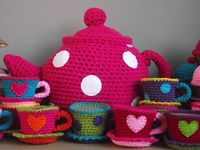 Crochet tea. http://willewopsie.blogspot.com/