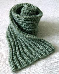 Very Special Scarf: Easy MistakeStitch - Easy Mistake Stitch Scarf - the purl bee