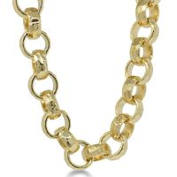 MEN'S GOLD PLATED BELCHER DIAMOND CUT 12MM BLING BRACELET Width: 12mm Size length 8/9 PRODUCT FEATURES: Heavily plated and high polished to create an authentic looking piece of jewellery. This product has been specially manufactured to look 100&...