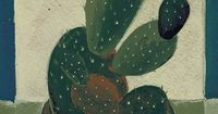 Glicee print Cactus painting by artandpeople on Etsy, $19.00