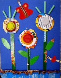 Green Crafting with 20 Spring Crafts for Kids from