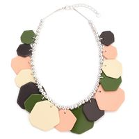 Buy this necklace from Yoko's fashion, the leading wholesaler of Occasional Jewellery in Manchester. This necklace comes with a lobster clasp and chain extender.
