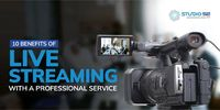 Live stream events provide an entirely new platform for businesses to reach both existing and new customers. Here are 10 benefits of live streaming with professional service. Read more - https://studio52.tv/blog/10-benefits-of-live-streaming-with-a-profes...