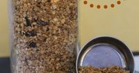 Homemade granola is delicious on it's own as a snack, sprinkled over ice cream or granola, or as a mix-in with your favorite cereal. Why spend money on expensive store-bought granola when you can make your own for less?