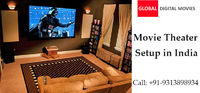 Movie Theater Setup in India by Global Digital Movies