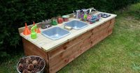 Mud kitchen....deluxe edition!