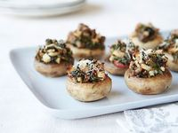 Sausage Stuffed Mushrooms Recipe : Rachael Ray : Food Network - FoodNetwork.com