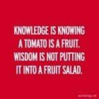 Do what you like with your fruit salad...wisdom ISNT making sure the tomato gets stored in the freezer...
