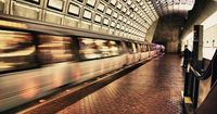 The Metro at Washington DC . . . the vibrations, speed, and wide-eyed wonder...