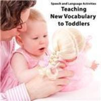 Speech and Language Activities for Toddlers