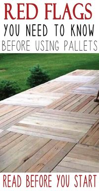 Wood pallets are a great, sometimes even free, material to use for your DIY and craft projects, and you can�€� Read more »