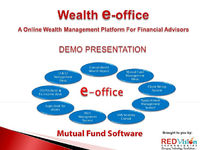 Advisor may be having clients who are just starting with mutual fund investments purchase mutual funds. To make your mutual fund investing more efficient, distributor may have a good Mutual Fund Software package.