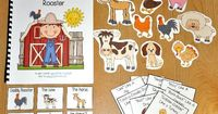 """This one is a fun one! ;) This Farm Adapted Book, """"The Tiny Little Rooster"""" is super-fun and interactive story that focuses on animal sounds of farm animals. It also focuses basic comprehension skills and """"wh"""" questions. In this activi..."""