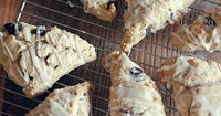 Skinny Cinnamon- Raisin Scones #weightwatchers