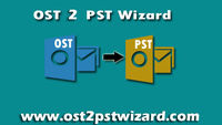 OST 2 PST Wizard permits user to export offline OST data to Outlook PST format for Outlook.