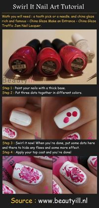 Swirl It Nail Art Tutorial
