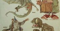 The Hobbit Character Sketches