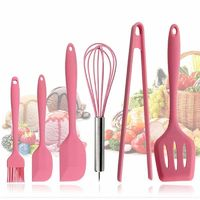 Pink Silicone Cookware Sets $35.99