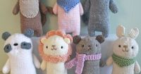 Knit Baby Animal Pattern Set New Pattern https://www.etsy.com/listing/242111373/knit-baby-animals-pattern-set-digital?ref=shop home feat 2