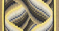 Free Twisted Bargello Quilt Patterns Shared by www.nwquiltingexpo.com #nwqe #quilt #sew