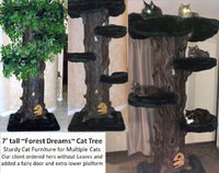 Sturdy Cat Trees for Multiple Cats Tall Cat Towers Large Cat Trees for Large Cats