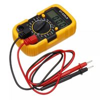 DT-830LN 3 1/2 Mini Digital Multimeter AC/DC Ammeter LCD Backlight Display