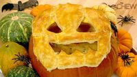 Carla Hall's Pumpkin Pot Pie Recipe #thechew