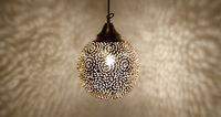 Small Moroccan Chandeliers Give a wonderful shade on the wall $120.00