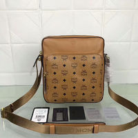 MCM Small Ottomar Visetos Messenger In Brown