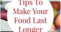 Tips you can use in your kitchen to help food and groceries last longer. Stop wasting money throwing out food that has gone bad fast with these simple ideas!
