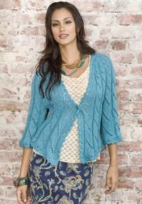 Free pattern ... One for Fun Jacket