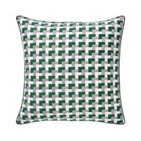 Zelliges Emeraude Pillow by Iosis $150.00