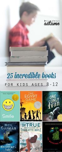 Find the best books for kids ages 8-12 (grades 4-6). Book ideas for girls and boys. Summer reading list! Realistic & historical fiction, fantasy, mystery.