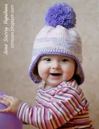 MK on a winter hat with ears. Comments: LiveInternet - Russian Service Online Diaries