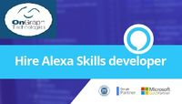 Hire Alexa Skill Developers   Alexa Skill Developers   Voicebot  OnGraph, has top Alexa Skills developers available for hire. We develop custom Amazon Alexa Skill Development Company, exactly as you want for your business or for personal use Artificial ...