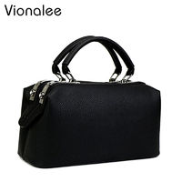 Women Tote Bag Boston Handbags Women's Shoulder Bags 2017 New Ladies Top-handle Bags For Women's Fashion Bags Female Designer $53.98