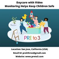 Daycare with Video Monitoring helps in giving better and real-time insight. Also, it builds trust among parents concerning child care being taken.