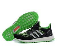 Adidas Ultra Boost Custom Black Green Mens yeezy-boost350outlet.com